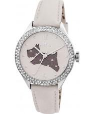 Radley RY2205 Dámy krém kožený řemínek hodinky s kamínky