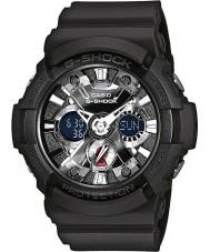 Casio GA-201-1AER Pánská g-shock světový čas černá chronograf hodinky