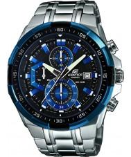 Casio EFR-539D-1A2VUEF Pánská budova modrá stříbrná chronograf hodinky