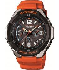Casio GW-3000M-4AER Pánská g-shock rádiem řízené oranžové na solární energii hodinky