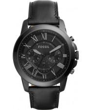 Fossil FS5132 Pánská udělit černý chronograf hodinky