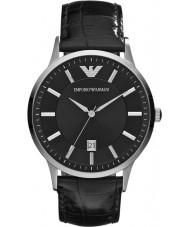 Emporio Armani AR2411 Pánské klasické černé hodinky