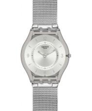 Swatch SFM118M Kůže - metal plést hodinky