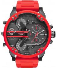 Diesel DZ7370 Pánská mr táta 2,0 červená ocelový náramek hodinky