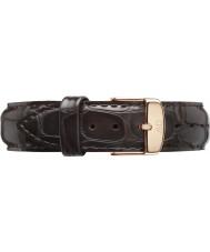 Daniel Wellington DW00200093 Dapper 17mm York růžové zlato rezervní popruh