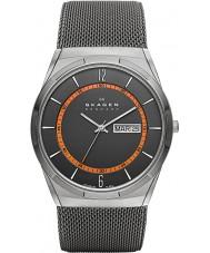 Skagen SKW6007 Pánská aktiv šedý mesh hodinky