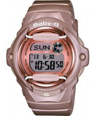 Casio BG-169G-4ER Dámy baby-g telememo světový čas růžové pryskyřice popruh hodinky