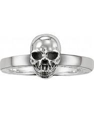 Thomas Sabo TR1876-001-12-54 Dámská stříbrná lebka prsten - velikost o (EU 54)