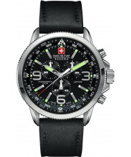 Swiss Military 6-4224-04-007 Pánská šipka chrono černé hodinky