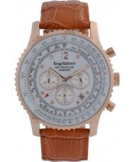 Krug-Baumen 600701DS Pánská vzduchu cestovatel diamantové hodinky