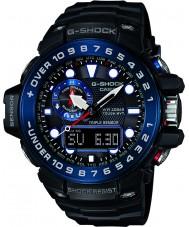 Casio GWN-1000B-1BER Pánská g-shock prémie rádiem řízené hodinky na solární energii
