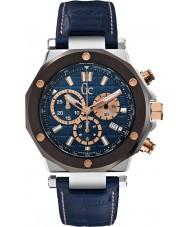 Gc X72025G7S Pánská GC-3 blue chronograf hodinky