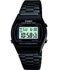 Casio B640WB-1AEF Pánská kolekce retro digitální černé hodinky