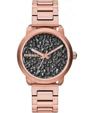 Diesel DZ5427 Dámy světlice šedostříbrná rose zlaté hodinky