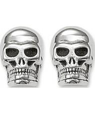 Thomas Sabo H1731-001-12 Stříbrné náušnice lebka
