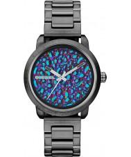 Diesel DZ5428 Dámy světlice duhový gunmetal ip hodinky