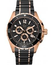 Gc X76004G2S Pánská sportovní třída XXL černá chronograf hodinky