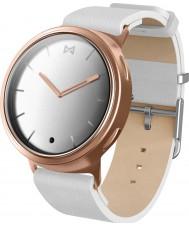 Misfit MIS5003 Fáze bílá kůže hodinky kompatibilní se systémy Android a iOS