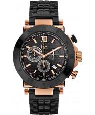 Gc X90006G2S Pánská GC-1 sportovní černá chronograf hodinky