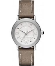 Marc Jacobs MJ1472 Dámy Riley světle hnědý kožený řemínek hodinky