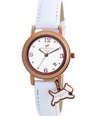 Radley RY2006 Dámy šarm bílá kůže popruh hodinky