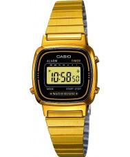 Casio LA670WEGA-1EF Sbírka pozlacené digitální hodinky
