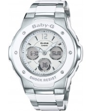 Casio MSG-300C-7B3ER Dámy baby-g světový čas dva tón combi hodinky