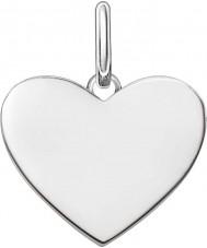 Thomas Sabo LBPE0002-001-12 Ženy milují most 925 mincovní stříbro přívěsek