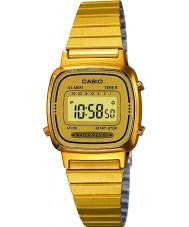 Casio LA670WEGA-9EF Sbírka pozlacené hodinky