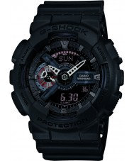 Casio GA-110MB-1AER Pánská g-shock matná černá pryskyřice popruh hodinky