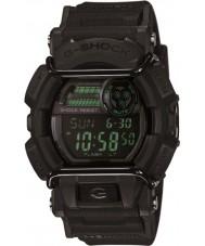 Casio GD-400MB-1ER Pánská g-shock matná černá pryskyřice popruh hodinky