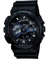 Casio GA-110-1BER Pánská g-shock černá combi světový čas hodinky