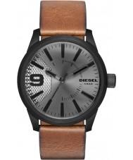 Diesel DZ1764 Pánská rašple světle hnědý kožený řemínek hodinky