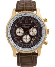 Krug-Baumen 600213DS Pánská vzduchu cestovatel diamantové hodinky