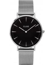 Cluse CL18106 Dámy La Boheme mesh hodinky