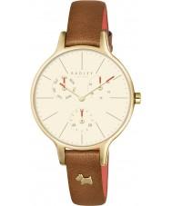 Radley RY2412 Dámy Wimbledonu rubínovou kůže chronograf hodinky