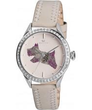 Radley RY2083 Dámy krém z pravé kůže popruh hodinky s kamínky