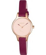 Radley RY2414 Dámy Wimbledonu rubínovou kožený řemínek hodinky