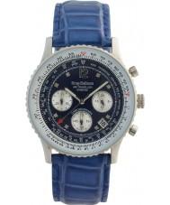 Krug-Baumen 400507DS Air cestovatel diamant modré kolečko modrý pásek