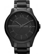 Armani Exchange AX2104 Pánská černá IP náramek šaty hodinky