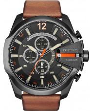 Diesel DZ4343 Pánská mega šéf černá s pálením chronograf hodinky