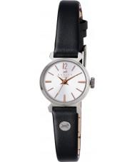 Radley RY2107 Dámy vinobraní černý kožený řemínek hodinky
