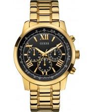 Guess W0379G4 Pánská horizont pozlacené chronograf hodinky