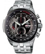 Casio EF-558D-1AVEF Pánská budova černá ocel chronograf hodinky