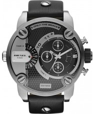 Diesel DZ7256 Pánská málo tatínek černý chronograf hodinky