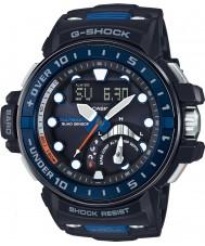 Casio GWN-Q1000-1AER Pánská g-shock rádiem řízené černá pryskyřice popruh hodinky
