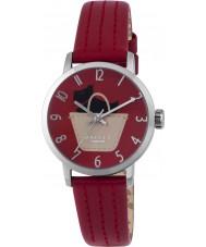Radley RY2287 Dámy rubínově kožený řemínek hodinky
