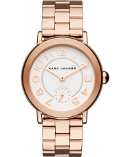 Marc Jacobs MJ3471 Dámy Riley růže pozlacené náramek hodinky