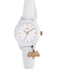 Radley RY2320 Dámské náramkové hodiny to! bílý pásek hodinky s růžové zlato odlesky