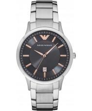 Emporio Armani AR2514 Pánské oblečení stříbrné oceli náramek hodinky